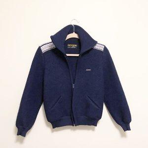 Geiger Tyrol Vintage Wool Jacket Navy Blue…